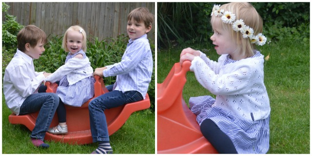 Playing nicely on the seesaw