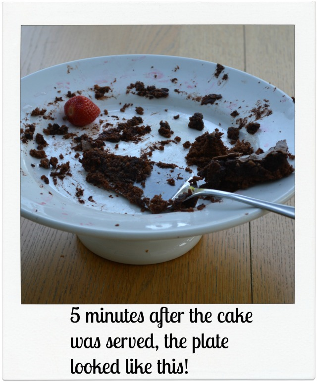Cake empty