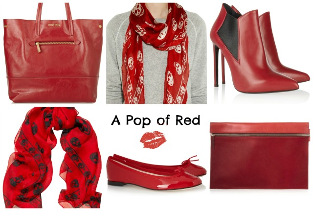 Red Collage