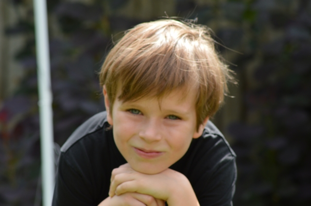 My handsome first born. Can't believe he will be ten this autumn!