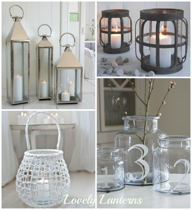 Lanterns Collage