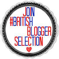 #BritishBloggerSelection+Button