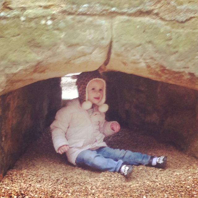 There were lots of nooks and crannies to explore