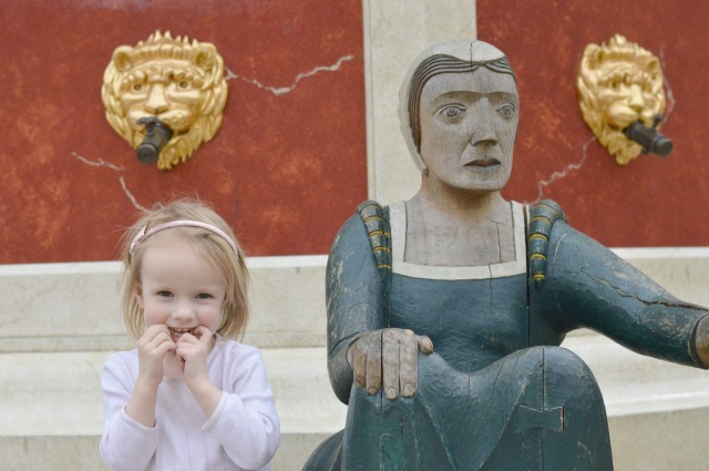 Hampton Court Statue