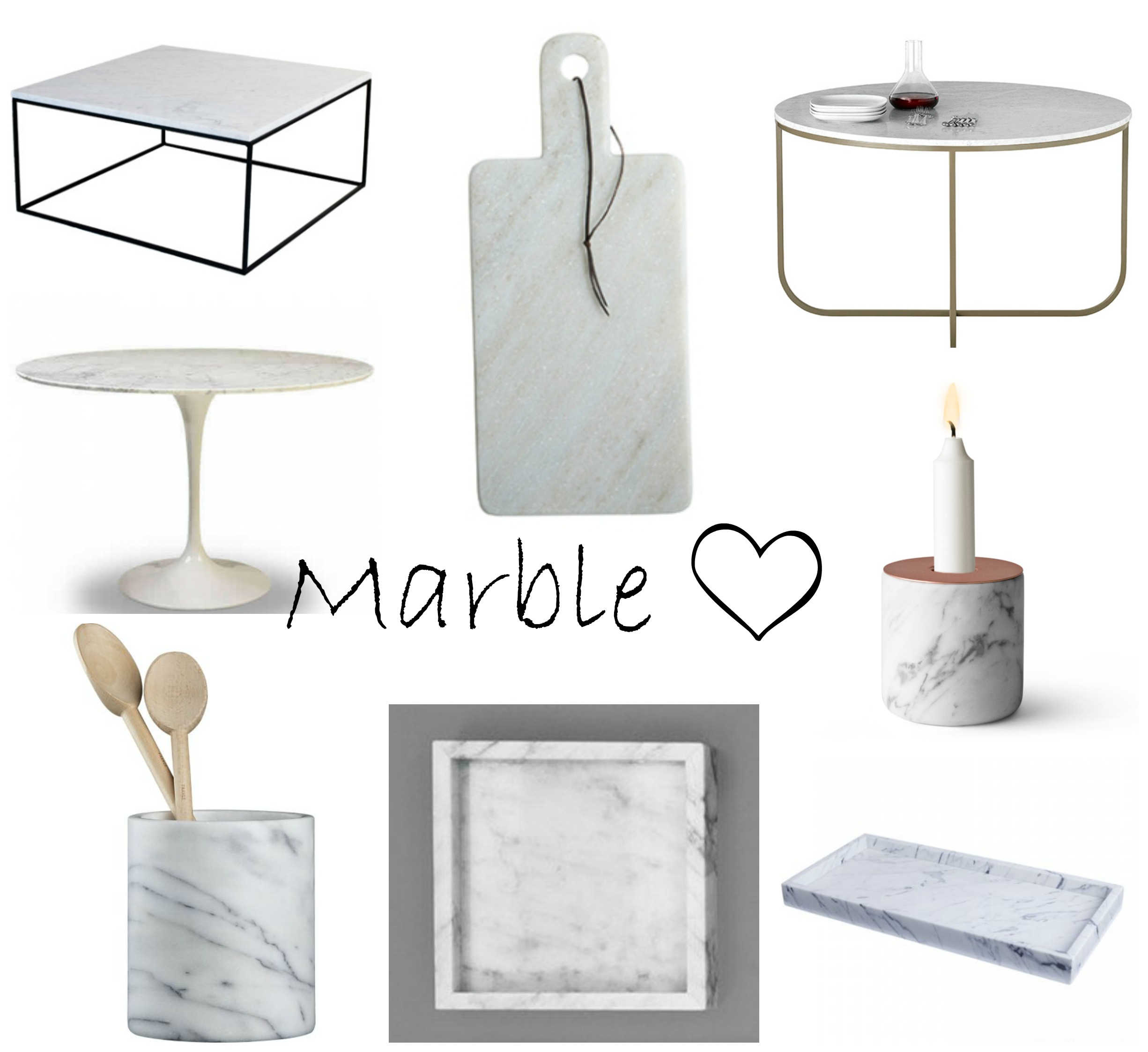 Interior Inspiration Mad For Marble A Spoonful Of Style