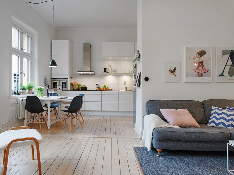 Interior inspiration scandi chic a spoonful of style for Swedish living room ideas