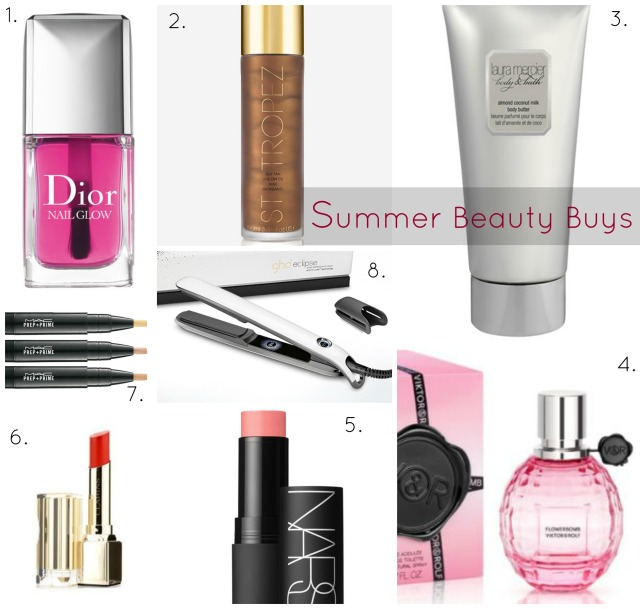 Summer Beauty Collage