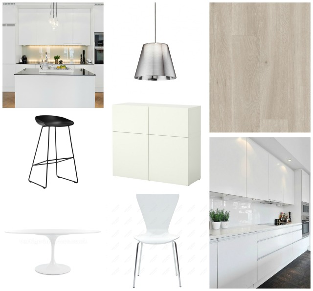 Kitchen mood board 2