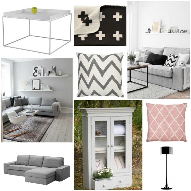 Living room mood board 3